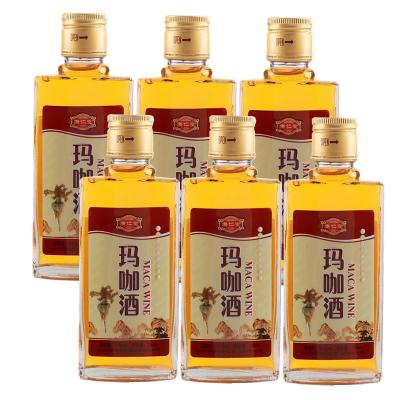 康仁堂瑪咖酒營養酒品牌健康滋補酒125ml*6瓶包裝 Mountfei