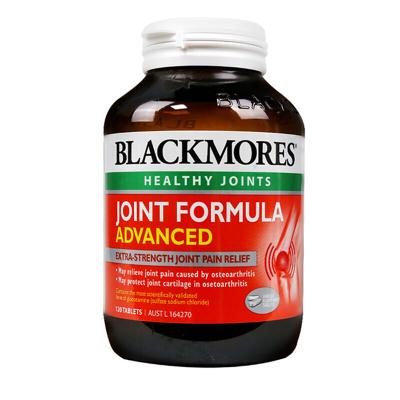 澳佳宝(Blackmores)氨糖维骨力软骨素加强版关节灵120片/瓶装 400g 澳洲进口 骨胶原蛋白