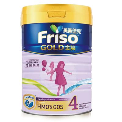 Friso 港版美素佳兒 金裝 嬰兒配方奶粉 4段(3歲以上) 900g/罐 荷蘭原裝進口