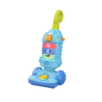 費雪 Fisher-Price兒童過家家玩具 仿真家庭場景 電玩學步吸塵器 GFP04