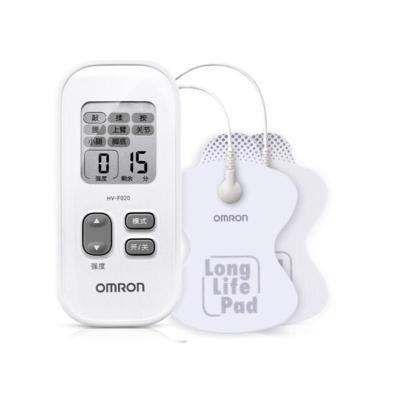 【高效舒緩疼痛】歐姆龍(OMRON)HV-F021按摩儀 2個按摩頭低周波按摩器 腿部肩部頸部腰部 白色