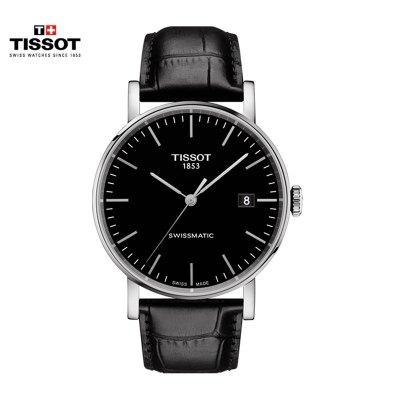 瑞士(TISSOT)天梭手表 魅時系列 機械表男士T109.407.16.051.00