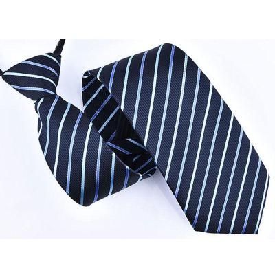 2019新款休閑舒適男商務正裝領帶 懶人拉鏈領帶 易拉得新郎伴郎紅色8cm免打結領帶 領帶 男 諾妮夢