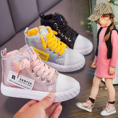 兒童馬丁靴秋冬新款短靴子兒童鞋中大童運動鞋短皮靴女孩靴子 衫伊格(shanyige)