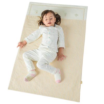 良良 (liangliang)嬰兒隔尿墊四季麻棉苧麻祛味寶寶尿墊 加大號隔尿墊吸濕透氣防水 110*72cm 米咖