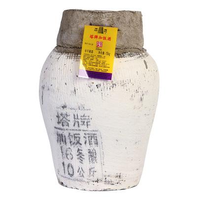 塔牌 紹興黃酒 陳年加飯酒 手工冬釀黃酒 10kg壇裝 半干黃酒 20斤裝