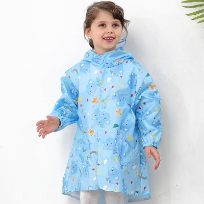 佳親softkids20新款兒童雨衣SF882276藍色XXL碼