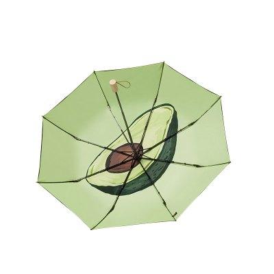 蕉下果趣系列太陽傘超輕黑膠防曬晴雨傘防紫外線防曬傘