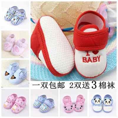 雪千羽【軟底】兒鞋子春秋夏季嬰兒鞋3-5-6-8-12個月男女寶寶學步鞋