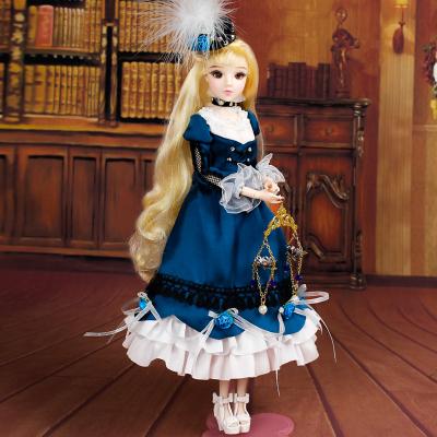 德必勝MMgirl12星座娃娃天秤座女孩玩具禮物套裝14關節體娃娃M2007