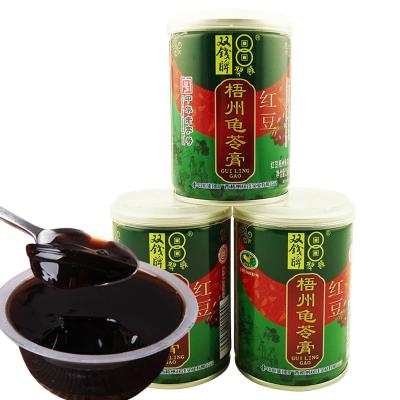 雙錢牌 龜苓膏 原味 /紅豆味 250g*3罐裝隨機混合味 易拉罐涼粉果凍批發零食