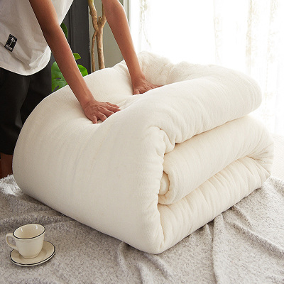 迎馨 棉花被全棉被子冬被被芯新疆长绒棉花胎加厚棉被褥子