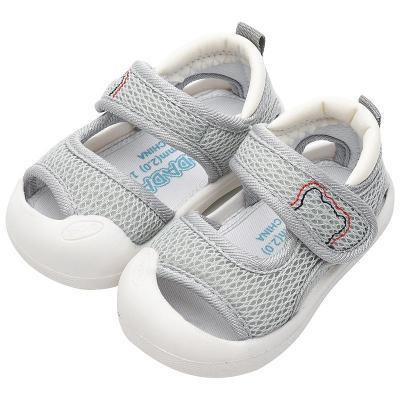 【精品好貨】寶寶涼鞋男學步鞋夏軟底防滑0一1-3歲嬰兒網布幼兒不女寶寶鞋子 邁詩蒙