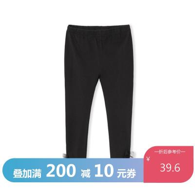 巴拉巴拉女童打底褲兒童褲子2020新款春裝中大童童裝彈力透氣百搭
