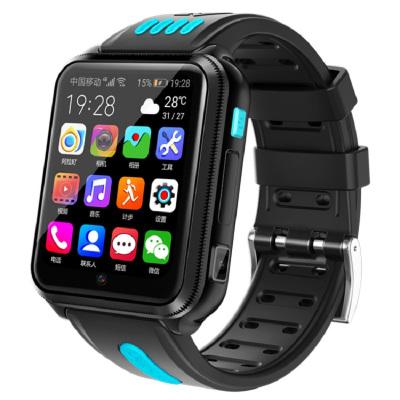 优禄儿童学生全网通4G智能电话手表GPS定位wifi上网app应用下载无线支付短信高清拍照视频通话电子围栏黑色