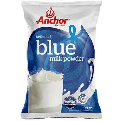 【產自新西蘭】安佳(Anchor)成人全脂奶粉 1kg/袋 進口成人奶粉 學生奶粉 1000g 進口食品 新西蘭進口