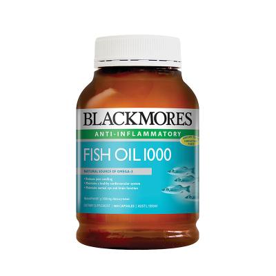 【兩件7.5折 三件6.9折】BLACKMORES澳佳寶原味深海魚油400粒/瓶裝軟膠囊含歐米伽3中老年專用DHA