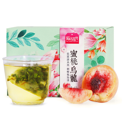 陌上花开蜜桃乌龙茶 白桃乌龙蜜茶水果冷泡茶组合三角茶包袋泡茶