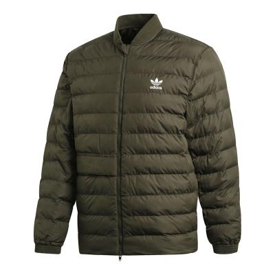 阿迪达斯(adidas)三叶草冬季男子运动棉衣棉服夹克外套DJ3193