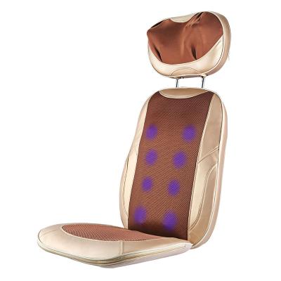 哈斯福按摩器HF-100 家用多功能加热揉捏腰间盘突出脊椎腰部背部劳损护腰靠垫理疗牵引仪器 人群不限