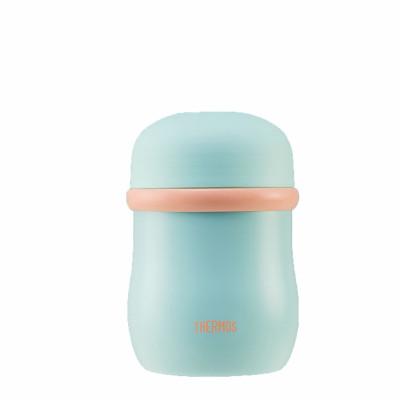 膳魔師THERMOS 母嬰幼兒童保溫高真空不銹鋼食物罐食物保鮮罐保溫桶 420ml TCLC-420F MT