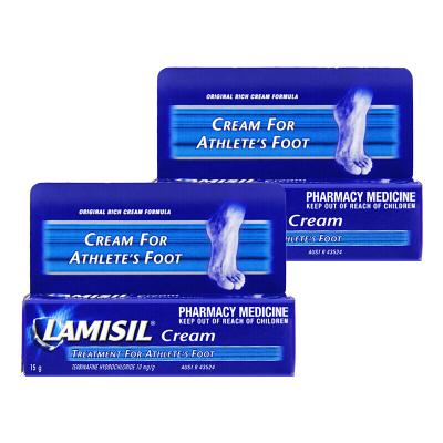 Lamisil cream 澳洲腳膏 足部護理 去除異味 15g *2支(新老包裝隨機發貨)【正品】