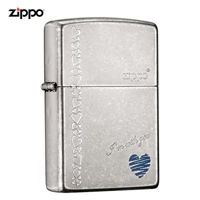 ZIPPO芝寶打火機原裝ZIPPO煤油之寶打火機藍心ZBT-1-8