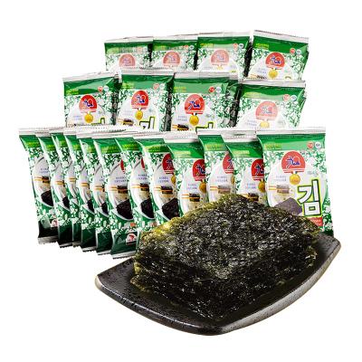 九日牌迷你海苔16g 韩国进口休闲零食
