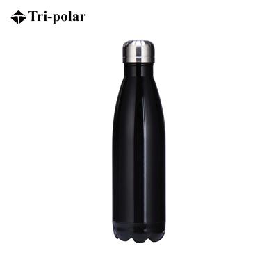 三极户外(Tripolar) TP3601 保温杯真空不锈钢可乐瓶保温杯运动便携水壶礼品500ml