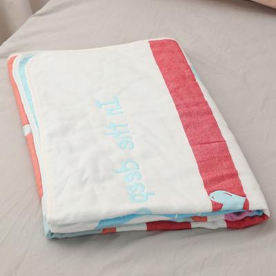 睿智媽媽witmoms嬰兒浴巾 嬰童新生兒夏涼被 空調被 蓋毯子六層紗布全純棉抱被抱毯包被浴毯