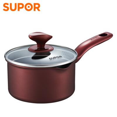 蘇泊爾(SUPOR)奶鍋PT16K1鋁制不粘奶鍋 不粘 16cm復底 電磁爐通用
