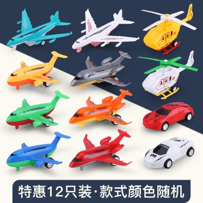 億青玩具寶寶慣性回力玩具車男孩子城市工程車消防兒童耐摔小汽車模型