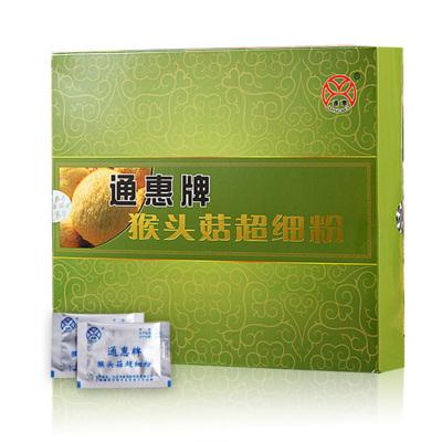 通惠 猴頭菇超細粉2g*60包/盒(贈禮品袋一個) 攜帶方便 方便沖服