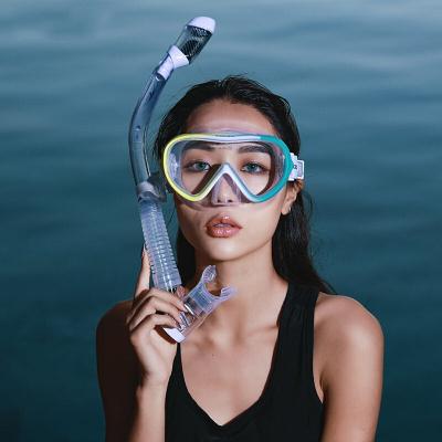 因樂思(YINLESI)潛水鏡浮潛三寶套裝全干式呼吸管器成人眼鏡潛水面罩游泳裝備