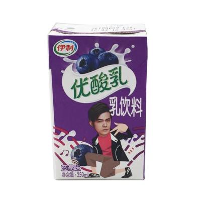 伊利蓝莓优酸乳饮品250ml*24