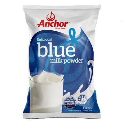 【產自新西蘭】安佳(Anchor)成人全脂奶粉 1kg/袋 進口成人奶粉 學生奶粉 1000g 進口食品 澳大利亞進口