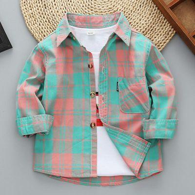 搭啵兔男女童襯衫長袖.春秋裝兒童襯衣洋氣中小童2020新款男孩襯衫潮
