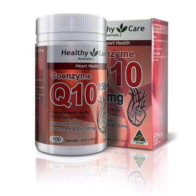 Healthy Care辅酶Q10软胶囊150mg 100粒