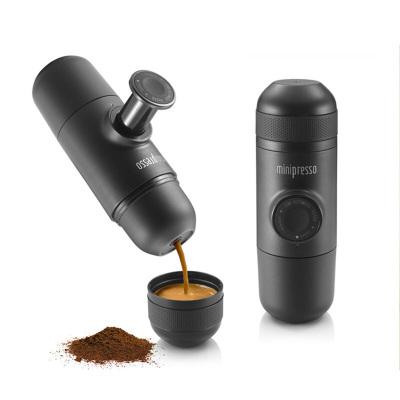 WACACO Minipresso GR意式迷你便攜式手壓咖啡機粉版 一代黑色