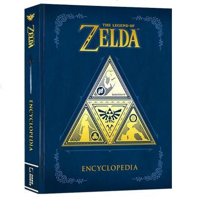 正版 塞尔达传说百科全书 英文原版 The Legend of Zelda Encyclopedia 百科设定集 从