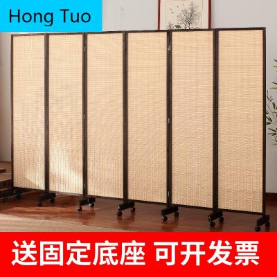 MeisilaiDeng屏風隔斷墻折疊移動客廳臥室簡約現代玄關擋煞辦公室簡易遮擋家用