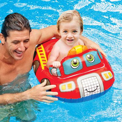 INTEX兒童游泳圈坐圈新生兒寶寶幼嬰兒游泳圈兒腋下趴圈0-1-3-6歲