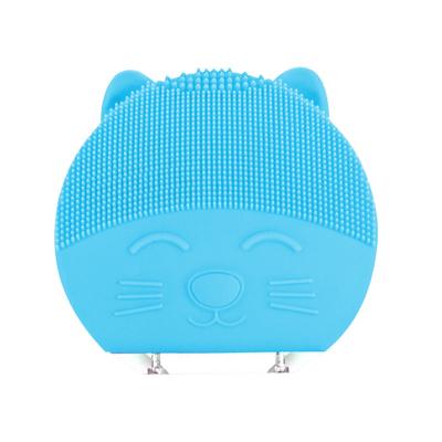 极库 电动洁面仪洗脸神器清洁硅胶洗脸仪洁面仪 天蓝色