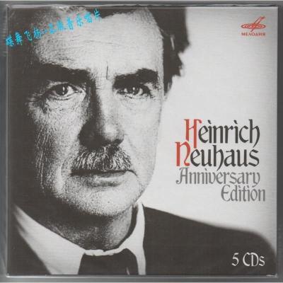 MELCD 1002539 涅高兹 Neuhaus 钢琴艺术 5CD