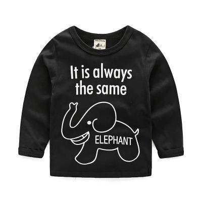 花漾兔(HUAYANGTU)男童长袖T恤 2019春装新款纯棉卡通童装宝宝儿童打底衫女童上衣潮
