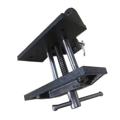 6寸桌夾式木工夾具固定桌鉗夾板式臺虎鉗平口桌虎夾鉗法耐diy實驗教學