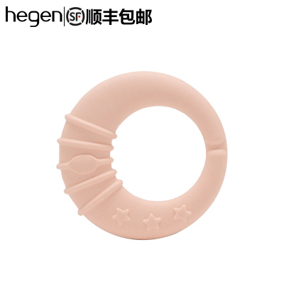 hegen原裝進口舒緩牙膠寶寶嬰兒牙膠磨牙棒寶寶咬咬膠玩具器