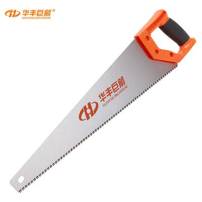 華豐巨箭(HUAFENG BIG ARROW) 手板鋸 65錳鋼鋸子手鋸木工手鋼鋸鋸和鋸條450MM