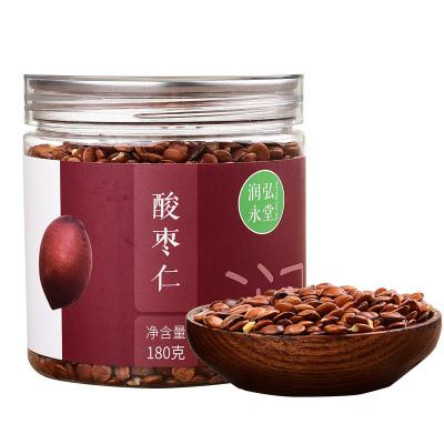 潤弘永堂 酸棗仁茶180克/罐 炒制酸棗仁 睡眠茶 養生茶湯