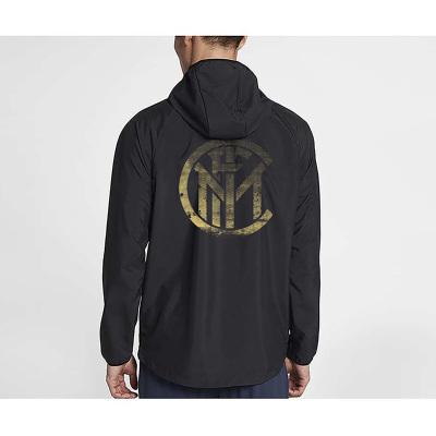 国际米兰俱乐部Inter Milan 男士2019年新款男士上衣宽松户外休闲运动防风褂子外套夹克